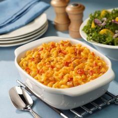 Baked Macaroni with ham and yellow cheese recipe | Greedy Chef