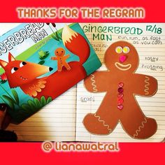 Thanks @lianawatral for permission to regram!! #todayinspeech we are making gingerbread men while practicing our speech sounds and motor skills!  life's too short to not love your job - - click on pin for more!    - Like our instagram posts?  Please follow us there at instagram.com/pediastaff