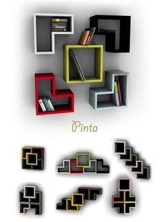 bookshelf minimalist design Minimalist Bookshelf Design by Igor . Wall Shelves, Shelving, Corner Shelves, Minimalist Bookshelves, Wood Furniture, Furniture Design, Etagere Design, Bookshelf Design, Bookshelf Plans