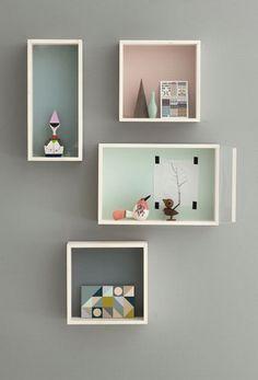 Ferm Living Puppenhaus und Setzkasten bei Zuckerschnürl München... via Designchen, Foto: ferm living