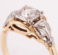 1930s vintage ring