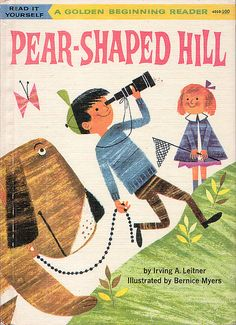 Pear Shaped Hill Ilrations By Bernice Myers 1960 Cover Vintage Posters