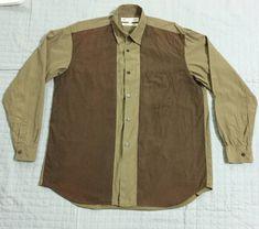 b2d5944c5b74 🔥(Final Drop Before Delete)Comme Des Garcons Shirt Two Tones Oversized Button  Up Shirt. Grailed