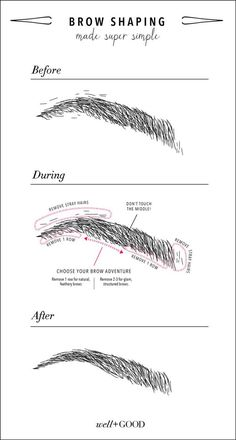 5 tips to finally getting the full, pretty eyebrows you want. Via | wellandgood.com