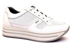 GEOX U74T5A 08511 C9999 WELLS NERO scarpe sneakers stringate uomo primavera  estate vera pelle  5e7d2aaa09a