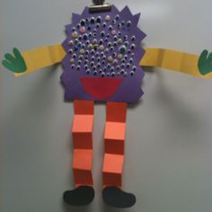 100th Day of School Monster