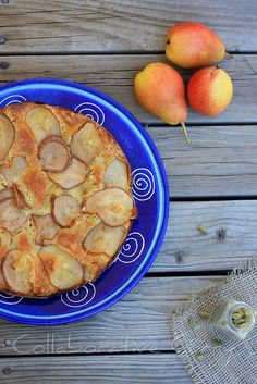 Pear crisp, Pears and Food on Pinterest
