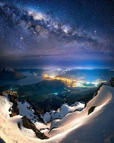 Milky Way over The Remarkables View, New Zealand