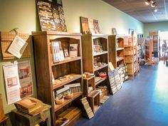 A look towards the front of our showroom with a huge selection of Crossville and Fireclay tiles.
