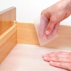 Con-Tact Brand Zip-N-Fit Clear Ribbed Non-Adhesive Nonslip Shelf and Drawer Liner (Pack of - Cleaning Hacks