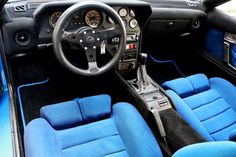 interieur renault alpine a310 v6 Alpine Renault, Renault Sport, Alpine A310 V6, Modern Classic, Classic Cars, Dashboard Car, Custom Car Interior, 70s Cars, Blue Magic