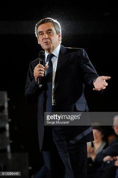 VILLEURBANNE, FRANCE - OCTOBER 06 : Former French Prime... #villeurbannefr: VILLEURBANNE, FRANCE - OCTOBER 06 : Former… #villeurbannefr