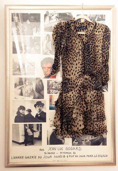 A little leopard & Godard. www.thecoveteur.com/charlotte_ronson