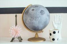 DIY Moon Globe Tutorial from Make My Lemonade. Nothing against...