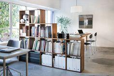 Modern Home Office Design Ideas For Inspiration - Di Home Design Workspace Design, Home Office Design, Home Office Decor, Home Interior Design, Home Decor, Interior Architecture, Office Ideas, Interior Ideas, Stacking Shelves