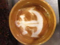 Anchor ⚓ Latte Art