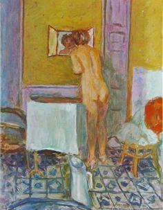 Pierre Bonnard, Nu devant la cheminée.