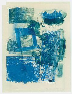 Robert Rauschenberg, Stunt Man 1, 1962, Robert Fontaine Gallery