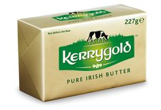 Kerrygold- best butter EVER!!!!!!!!!  Grass-fed cows make the tastiest butter.