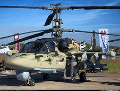 Kamov Ka-52 Alligator of theВоенно-воздушные cилы - Russian Air Force. (Source)