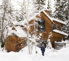 Want to ski all day everyday? Sundance's rustically elegant cabins allow you to do just that.