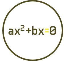 Solución de ecuaciones de segundo grado incompletas mixtas