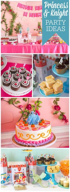 You have to see this amazing princess and knight party! See more party ideas at CatchMyParty.com!