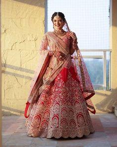 Latest Bridal Lehenga, Indian Wedding Lehenga, Lehenga Dupatta, Designer Bridal Lehenga, Bridal Lehenga Choli, Anarkali, Wedding Lehanga, Indian Gowns, Indian Weddings