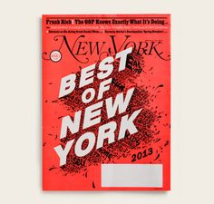 Typeverything.com - New York Magazine Cover by...