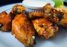 Beer Braised Instant Pot Hot Wings - Kind of Domestic Chicken Wingettes, Instant Pot, Spicy Shrimp, Wing Recipes, Game Day Food, Pressure Cooker Recipes, Tandoori Chicken, Chicken Wings, Food Print