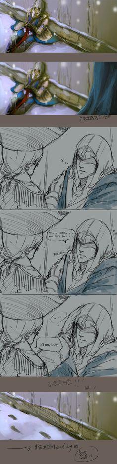 Assassins Creed Comic, Assasins Cred, Cry Of Fear, Anime Sketch, Demons, Addiction, Fandoms, Fantasy, Amazing