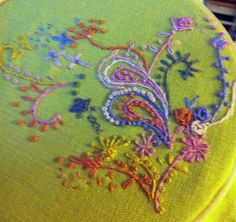 A post about Free Form stitching (my kind of embroidery)