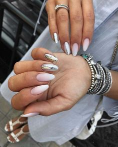 30 White Nail Designs Bridal Ideas Full Of Style ❤ white nail designs wedding ombre glitter shabalina_nails #weddingforward #wedding #bride #whitenaildesigns #bridalnails Wedding Nails For Bride, Bridal Nails, White Nail Designs, Simple Nail Designs, White Manicure, White Nails, Glitter Nails, Fun Nails, Sophisticated Nails