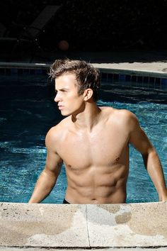 Kenny Wormald... I have no clue who this guy is but he would look great in my pool!