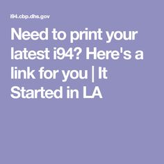 Need to print your l