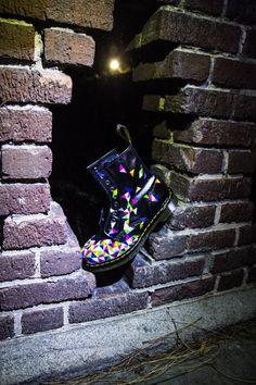 Geometric Expansion Custom Hand Painted Doc Martens door LinebyLeah x Dr. Martens, Coolest Shoes Ever, Gothic Accessories, The Expanse, Painting Inspiration, Grunge, Custom Design, Cute Outfits, Footwear