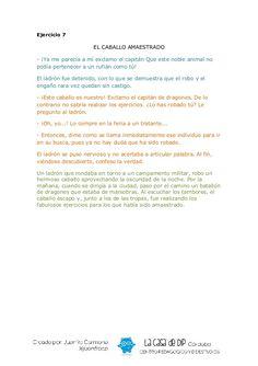 Cuentos desordenados Conte, Fails, Home, Reading Strategies, Reading Activities, Reading Comprehension, Reading Comprehension