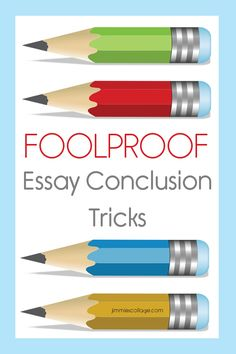 Teaching Homeschoo Writing: Foolproof Essay Conclusion Tricks (with free printable)