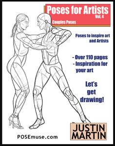Poses for Artists Volume 2 An essential reference for figure drawing and the human form Standing Poses