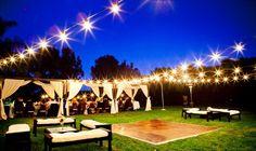 dance floor wedding reception layout | Inexpensive Dance Floor Ideas | WeddingElation