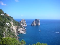 The Faraglioni Rocks, Capri, Italy  One of my favorite places