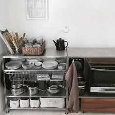 Kitchen/無印良品/食器棚/収納/キッチン雑貨/オープン収納...などのインテリア実例 - 2017-12-21 02:30:54