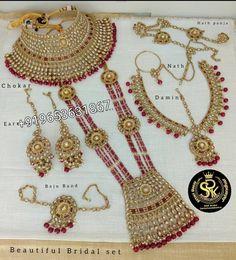 "bridal chuda kaleera chura on Instagram: ""Direct Massage for detail and prize only whatsapp or inbox +919653631867 $$$$$$$$$$$$$$$$$$$$$$$$$$ srk bridal chura manufacturer and…"" Bridal Necklace Set, Gold Necklace, Punjabi Traditional Jewellery, Bridal Chuda, Jewerly, Crochet Necklace, Detail, Massage, Instagram"