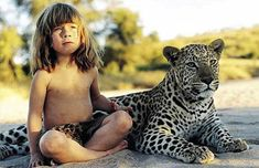 Real Life Mowgli: The Girl Who Was Raised In The African Wild.