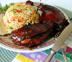 """A kínai konyha egyik leghíresebb étele a ropogós""""pekingi kacsa"""" Szerte a nagyvilágban mázas kacsák lógnak a kínai városrészekben található... Wok, Recipies, Food Porn, Food And Drink, Meat, Chicken, Dinner, Main Courses, Recipes"""