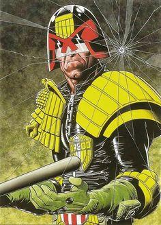 Brian Bolland - Judge Dredd