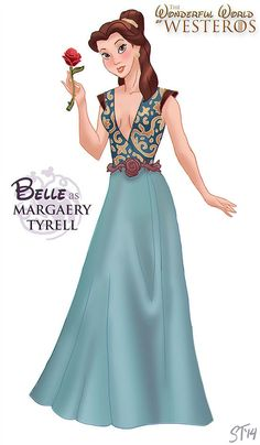 Belle as Maraery Tyrell by DjeDjehuti.deviantart.com on @deviantART