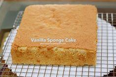 my-sweet-hut: Vanilla Sponge Cake (Basic)