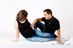 Maternity female legs wrapped around male sitting on floor. Unique Maternity Photos, Maternity Portraits, Maternity Pictures, Pregnancy Photos, Hobby Photography, Dear Friend, New Life, Picture Ideas, Love Her