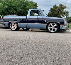 87 Chevy Truck, Chevrolet Trucks, Chevy Silverado, C10 Trucks, Pickup Trucks, Custom Trucks, Custom Cars, Square Body, Hot Rides